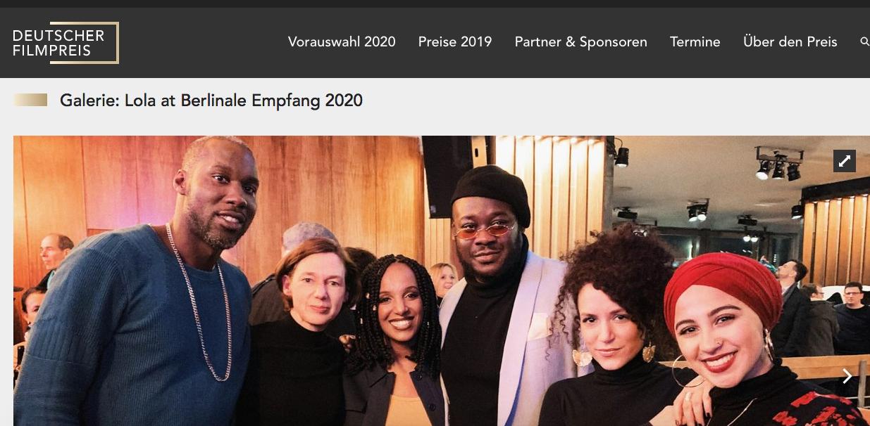 Deutscher Filmpreis 2020 LOLA